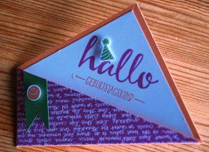 Faltkarte Trapez (2)