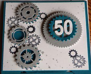 Zahnrad-Karte 50ter Geburtstag (3)