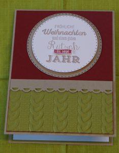 Tri-Folder-Card Weihnachten Elch (2)
