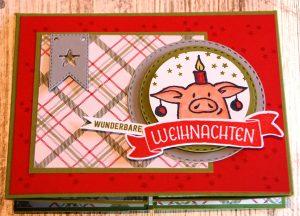Weihnachtskarte Fleischerei (2)