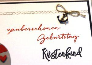 Geburtstagskarte Küstenkind (4)