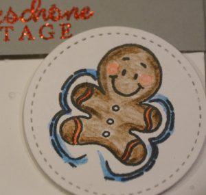 Weihnachtskarte Schneeengel (1)
